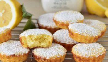 Muffins au yaourt et au citron