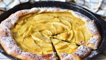 Tarte aux pommes à 2 ingrédients
